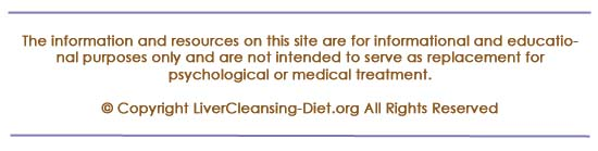 Disclaimer for livercleansing-diet.org