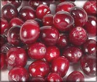 Liver Cleansing Diet: lots of lovely cranberries