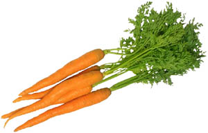 Spoil your liver with raw carrots.