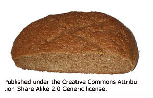 Whole grain bread works really well in a liver cleansing diet.