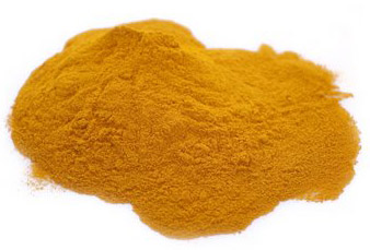 Grounded tumeric powder.