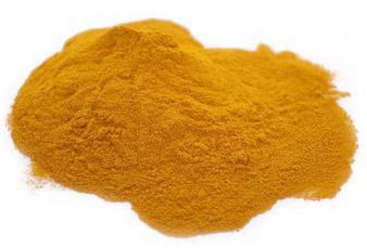 Grounded tumeric powder.