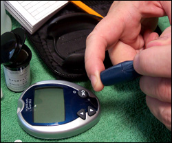 Diabetes type 2 increases the risk of developing fatty liver disease.